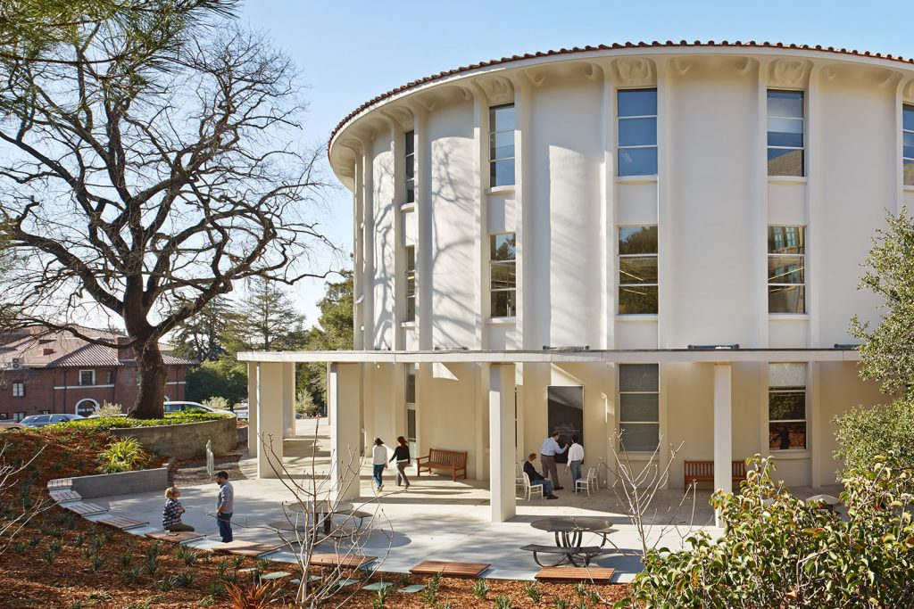 The building Simons Institute is housed in. Source: https://simons.berkeley.edu/about/calvin-lab