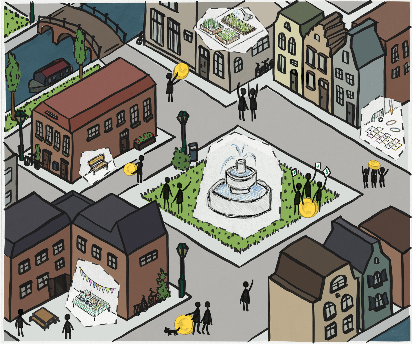 When residents design their city